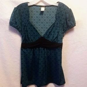 Maurices tie back blouse